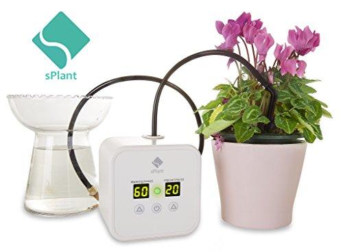 splant drip irrigation kit self watering system automatic watering system water can watering. Black Bedroom Furniture Sets. Home Design Ideas