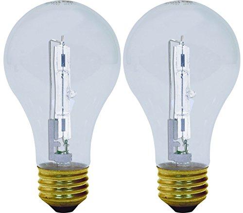Set Of 12 Ge Lighting 81639 60 Watt A19 Reveal Crystal